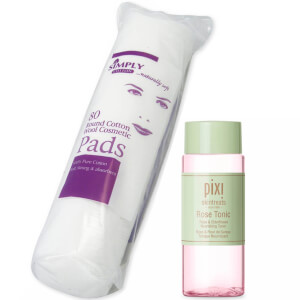 PIXI Rose Tonic 100ml and Cotton Wool Pads Bundle