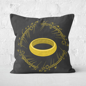 Lord Of The Rings The One Ring Square Cushion