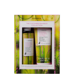 Korres Cucumber and Bamboo Shower Gel Duo