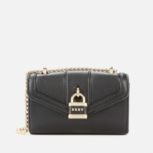 DKNY Women's Ella Shoulder Bag - Black/Gold