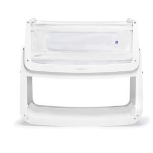 SnüzPod4 Bedside Crib - White