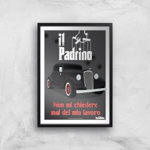 The Godfather Il Padrino Giclee Art Print