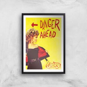Grease Danger Road Giclee Art Print