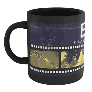 E.T. the Extra-Terrestrial Film Reel Mug - Black