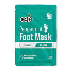 CBDfx Foot Mask – Peppermint