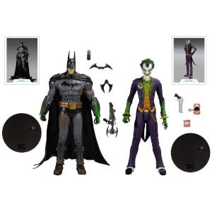 McFarlane Toys DC Gaming Multipack - Arkham Batman Vs. Arkham Joker Action Figure