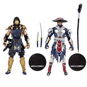 McFarlane Toys Mortal Kombat 2Pk - Scorpion & Raiden Action Figure