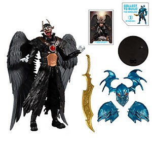 "McFarlane Toys DC Multiverse Build-A 7"" Action Figure - Wv2 - Batman Who Laughs (Hawkman) Action Figure"