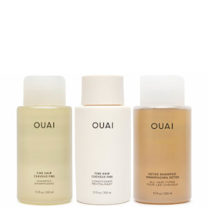 OUAI Fine Hair Detox Bundle