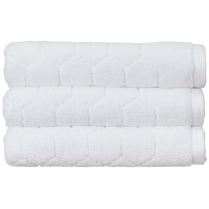 Christy Honeycomb Bath Sheet - White