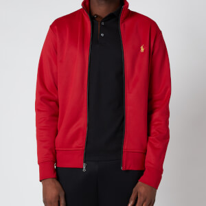 Polo Ralph Lauren Men's Lux Full Zip Track Top - Ralph Red