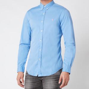 Polo Ralph Lauren Men's Slim Fit Chino Shirt - Cabana Blue