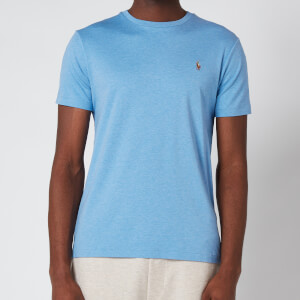 Polo Ralph Lauren Men's Custom Slim Interlock T-Shirt - Soft Royal Heather