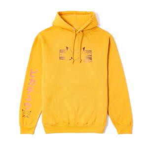 Pokémon Pikachu Sweat à capuche - Jaune moutarde