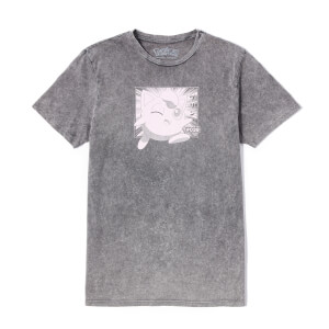 Pokémon Jigglypuff Unisex T-Shirt - Black Acid Wash
