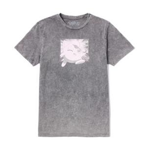 Pokémon Rondoudou Unisexe T-Shirt - Noir Délavé