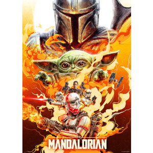 "Star Wars The Mandalorian ""Redemption"" Lithograph by Chris Christodoulou"
