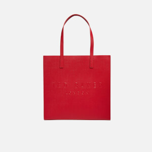 Ted Baker Women's Soocon Crosshatch Large Icon Bag - Red