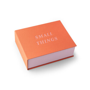 Printworks Small Things Storage Box - Rust/Pink