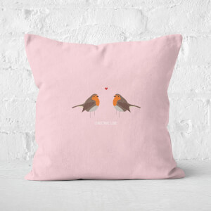 Robin Love Square Cushion