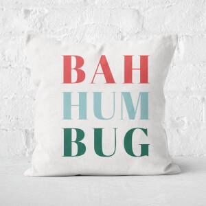 Bah Hum Bug Square Cushion