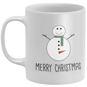 Cheeky Snowman Mug