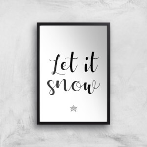 Let It Snow Giclee Art Print