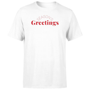 Season's Greetings Men's T-Shirt - White