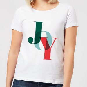 Graphical Joy Women's T-Shirt - White