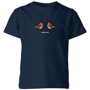 Christmas Love Kids' T-Shirt - Navy