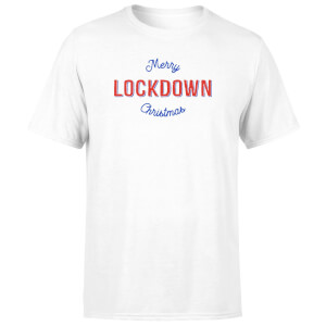 Merry Lockdown Christmas Men's T-Shirt - White