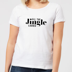 All The Jingle Ladies Women's T-Shirt - White
