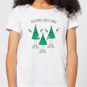 Seasons Greetings Women's T-Shirt - White