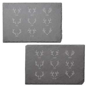 The Reindeer Gang Engraved Slate Placemat - Set of 2