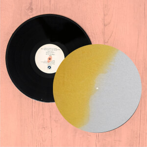 Ombre Yellow Paint Slip Mat