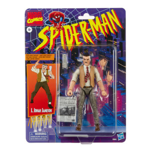 Hasbro Marvel Legends 6-inch J. Jonah Jameson Vintage Collection Figure