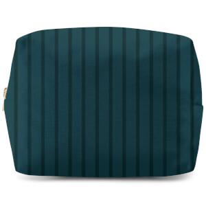 Stripe Blue Wash Bag
