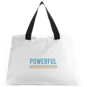 Powerful Colour Large Tote Bag