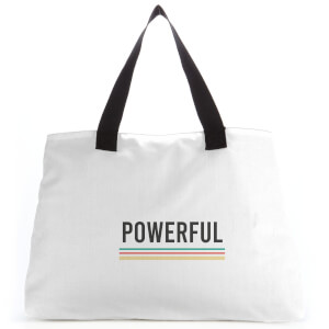 Powerful Large Tote Bag