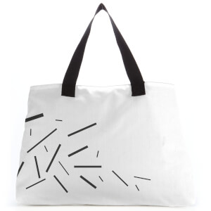 Lines Large Tote Bag