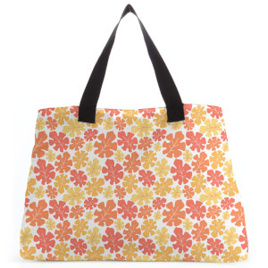 Tropical Leaf Large Tote Bag