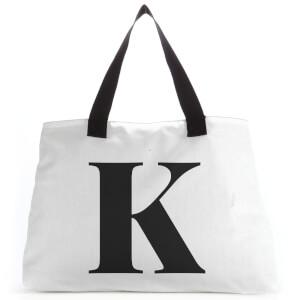 K Large Tote Bag