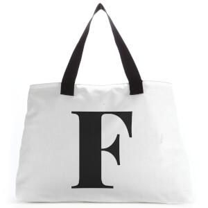 F Large Tote Bag