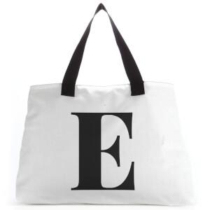 E Large Tote Bag