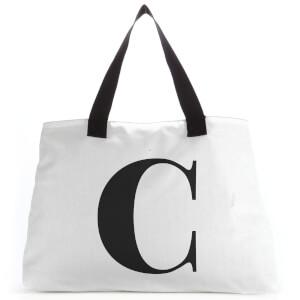 C Large Tote Bag