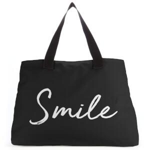 Smile Large Tote Bag