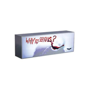 Hot Toys UK Exclusive DC Comics Batman: The Dark Knight (Why So Serious? Version) Lightbox