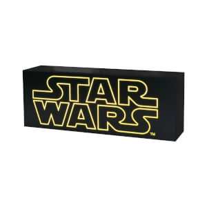 Hot Toys Star Wars Logo Leuchtkasten
