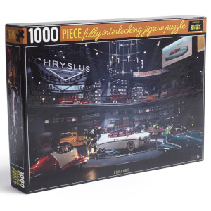 Fallout Chryslus Showroom Jigsaw Puzzle - A Quiet Night