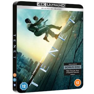 Tenet - Limited Edition 4K Ultra HD Steelbook (Includes Blu-ray)